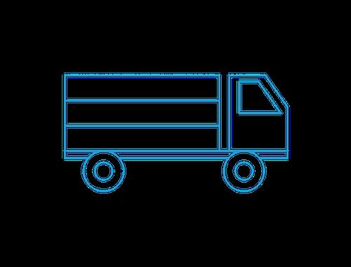 ground shipping icon