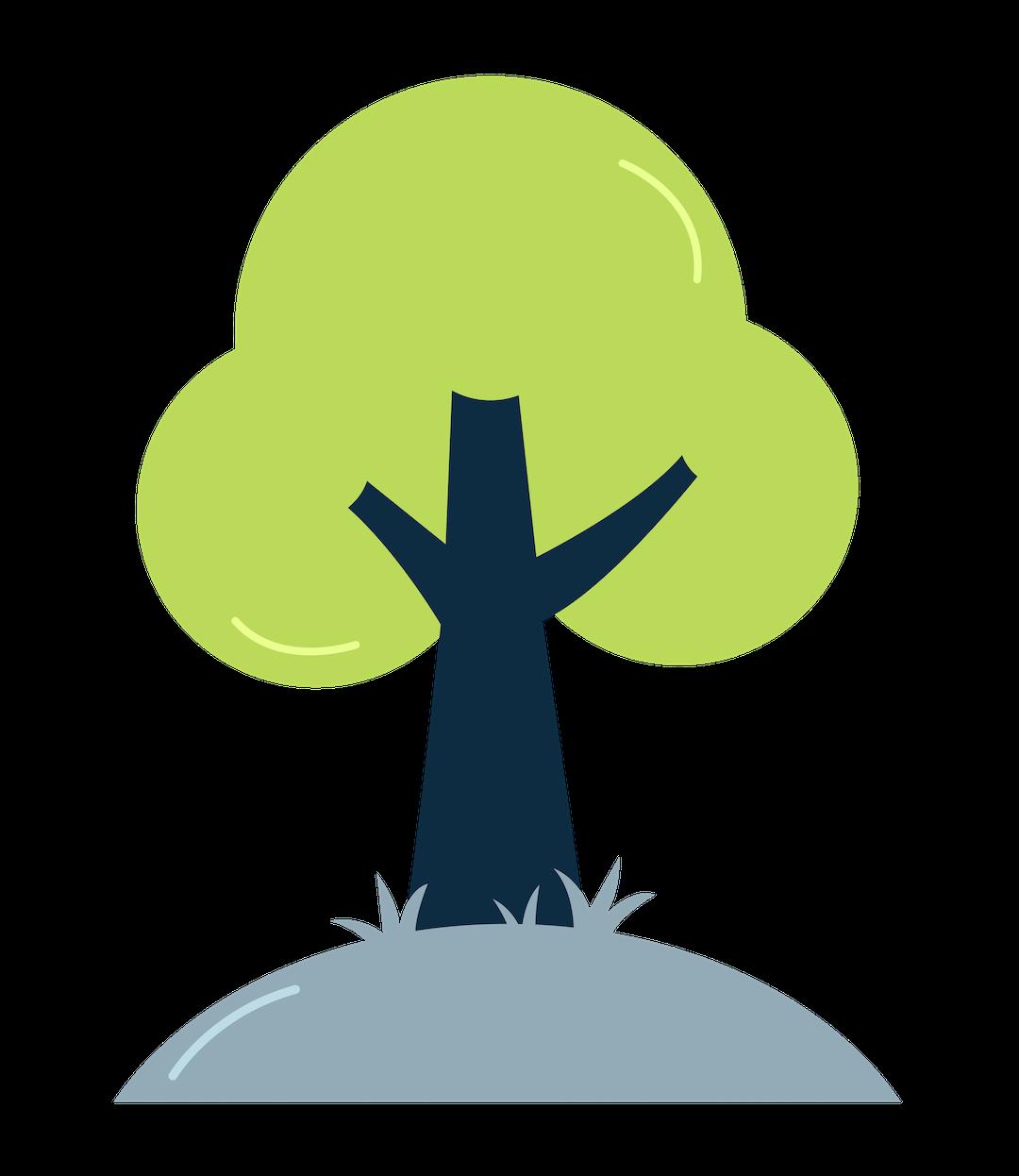 green shipping materials illustration