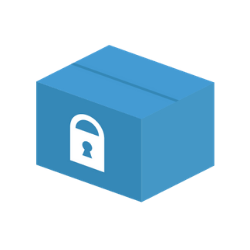 secure packaging icon